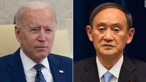 Biden utilizará la reunión con el primer ministro de Japón para enviar una 'señal clara' a China