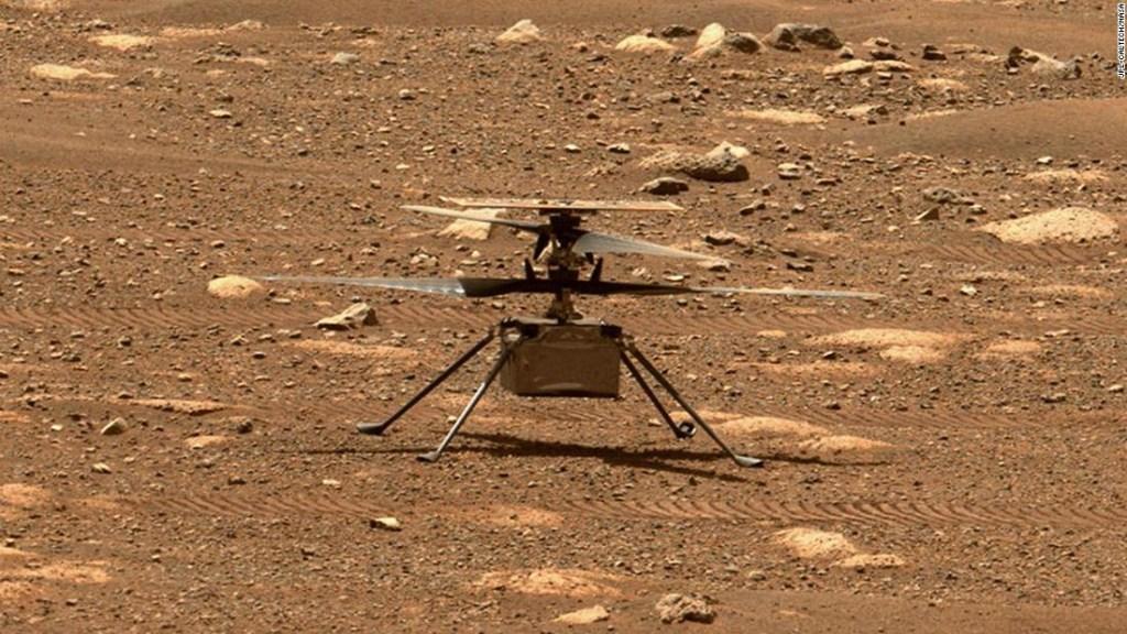 El primer vuelo del helicóptero Ingenuity en Marte podría suceder este el lunes