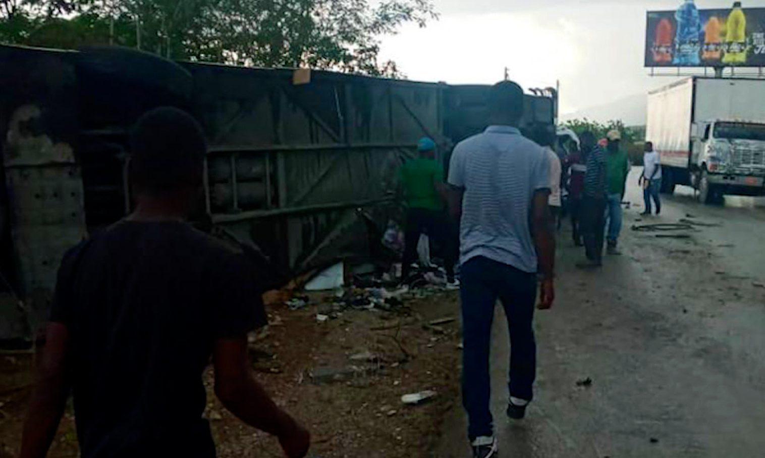 Haití: choque deja al menos 21 muertos y decenas de heridos