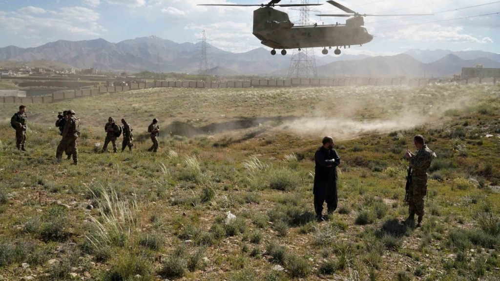 Afganistán US begins local withdrawal from Afghanistan