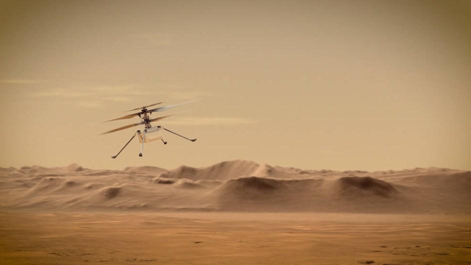 ingenuity marte helicoptero