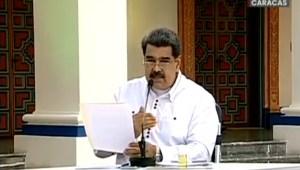 Maduro prolonga cuarentena radical por covid-19