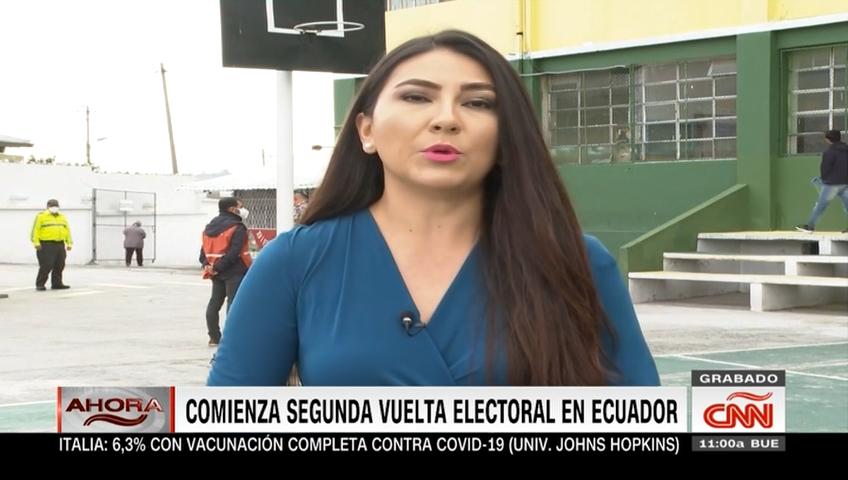 Ecuador ya vota a su próximo presidente: así empezó la segunda vuelta electoral