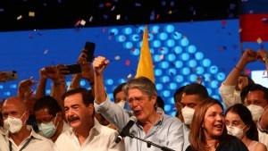 ¿Qué dijo Guillermo Lasso tras ganar las elecciones en Ecuador?