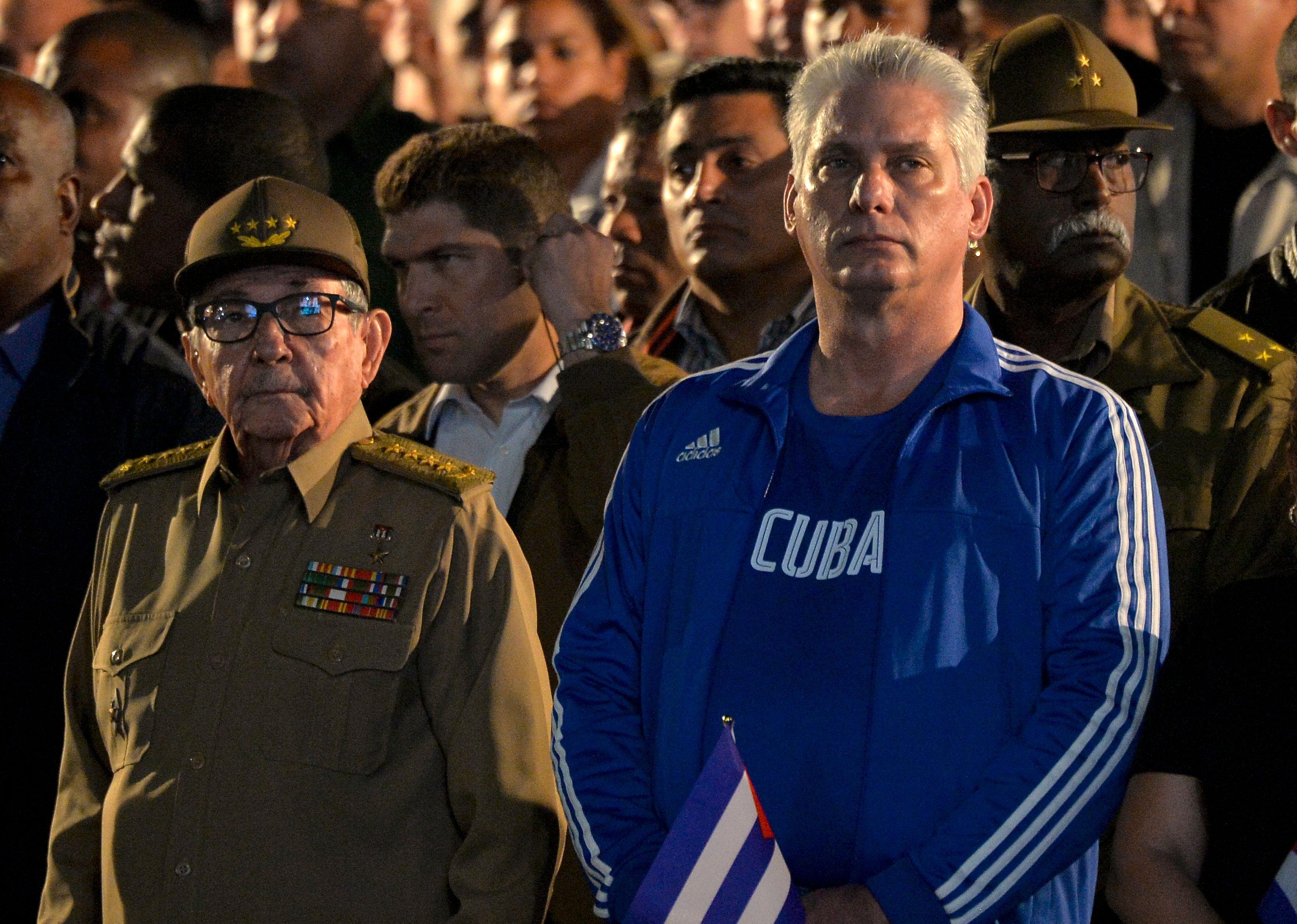 El Partido Comunista de Cuba elige a Miguel Díaz-Canel como primer secretario en lugar de Raúl Castro