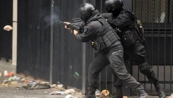 Disparos de bala de goma por parte de la policía Argentina habrían provocado lesiones oculares