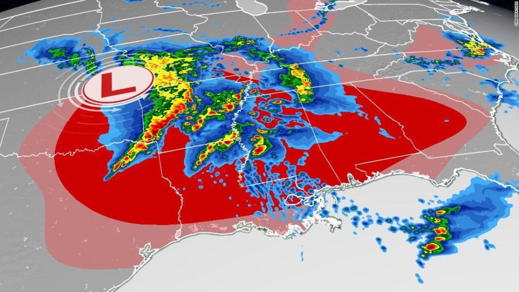 tormentas-tornados-pronóstico-sur-ee.uu.
