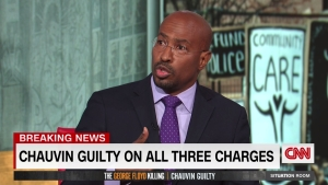 Van Jones reacciona al veredicto de Derek Chauvin