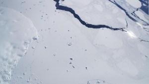 Investigan cambios de clima en la Antártida