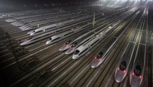 trenes de alta velocidad China