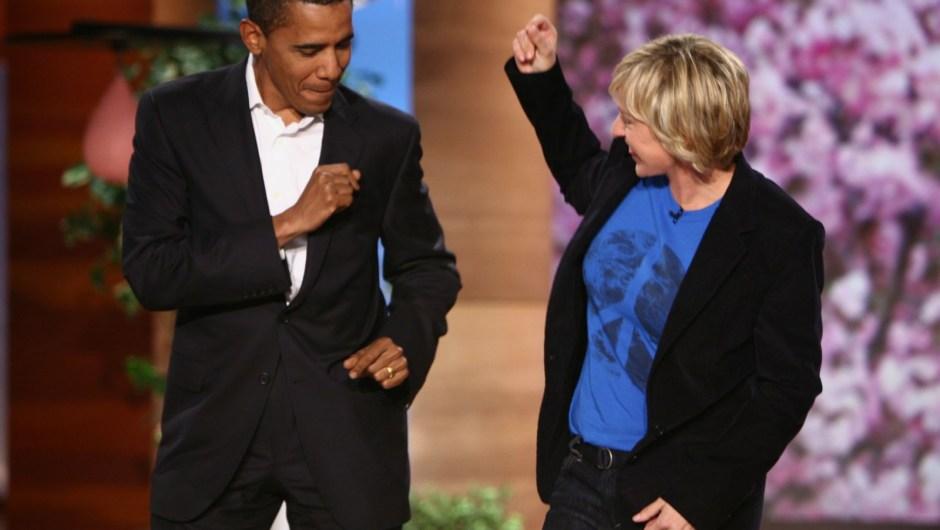 Ellen DeGeneres Obama