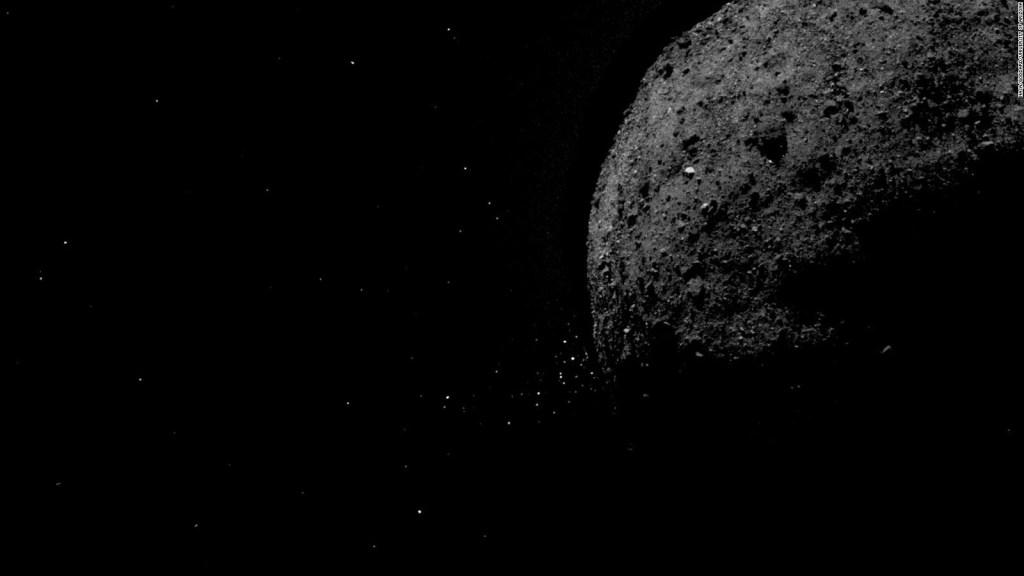 Esta es la última postal del asteroide Bennu