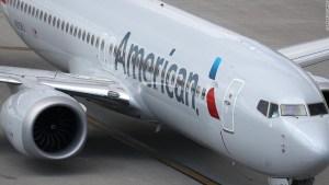 American Airlines sobrecargo