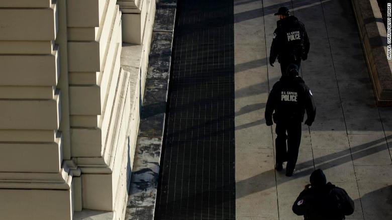 policía Capitolio