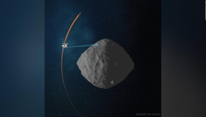 Histórico: muestras de asteroide van rumbo a la Tierra