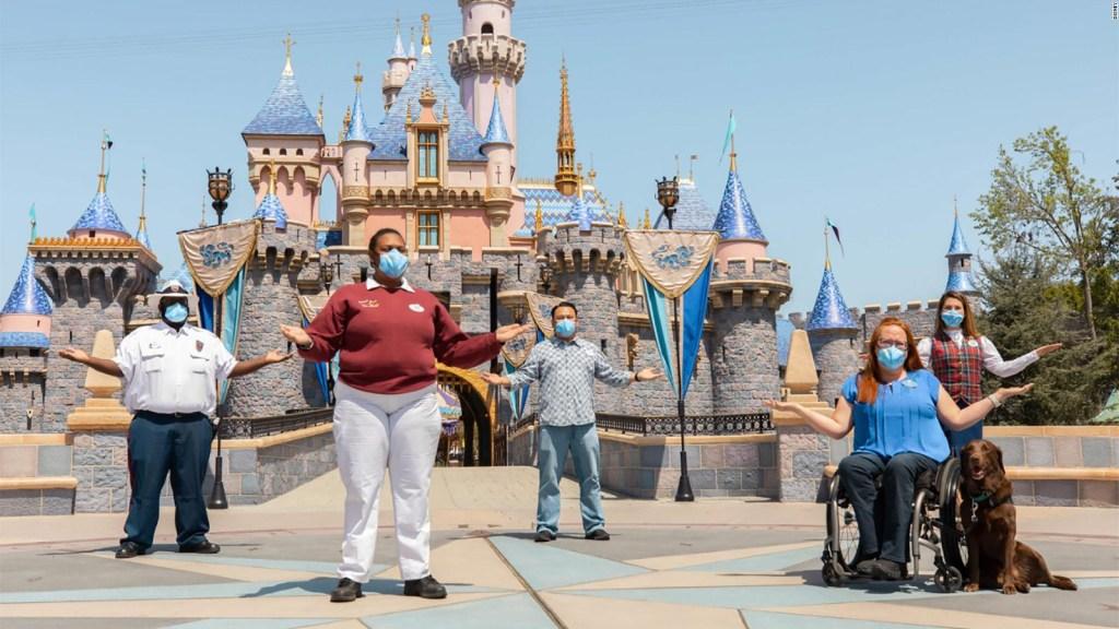 Menos restricciones sanitarias en un complejo de Disney