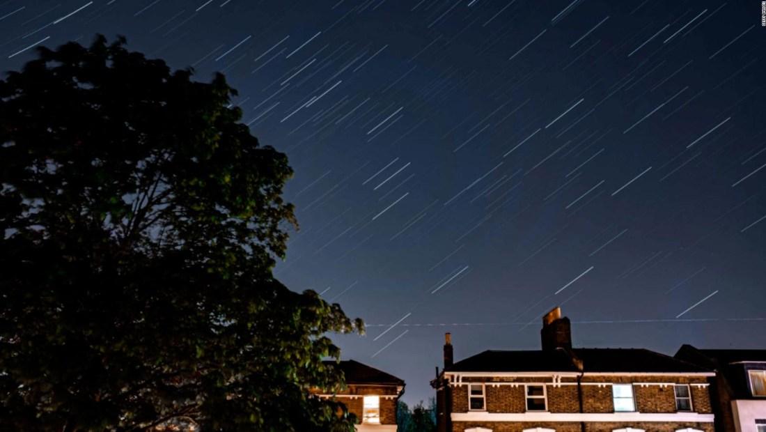 ¿Cuándo se puede ver la lluvia de meteoros?