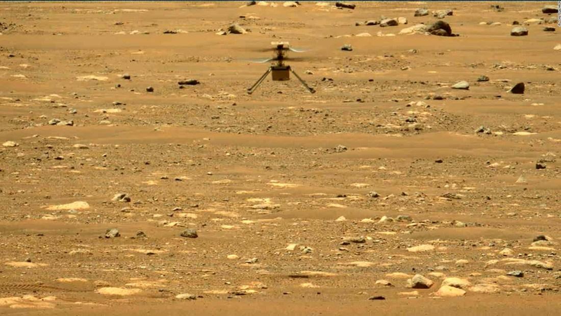 Misión cumplida: Ingenuity hizo 4 exitosos vuelos en Marte