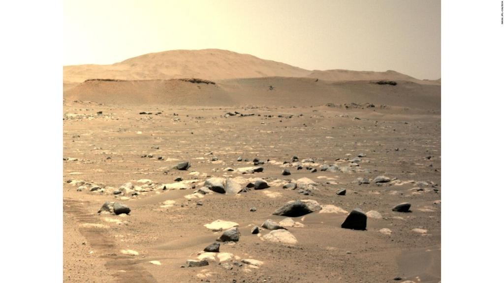 Primer audio del helicóptero Ingenuity volando en Marte