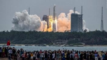 ¿Por qué el Pentágono sigue la trayectoria de un cohete chino?