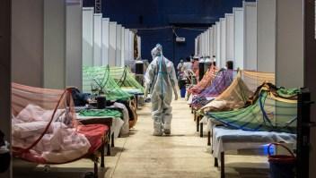 Temen que la cifra de contagios en India sea mayor