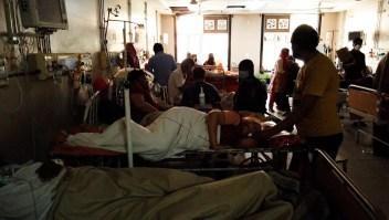 La angustia de los afectados por covid-19 en la India