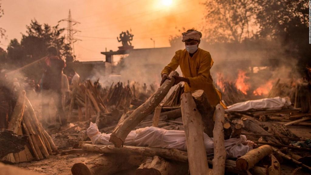 India: más casos en 7 días que el total de muchos países