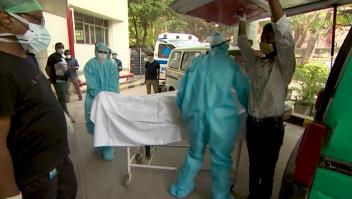 Sin oxígeno, varias personas mueren en hospital de India