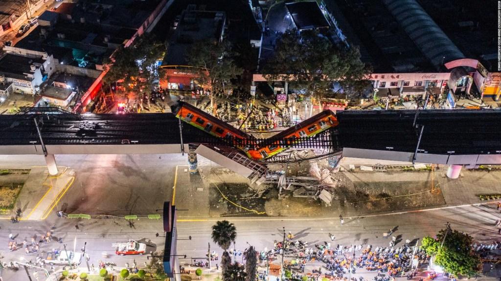 Dron capta como quedó la línea 12 en Ciudad de México
