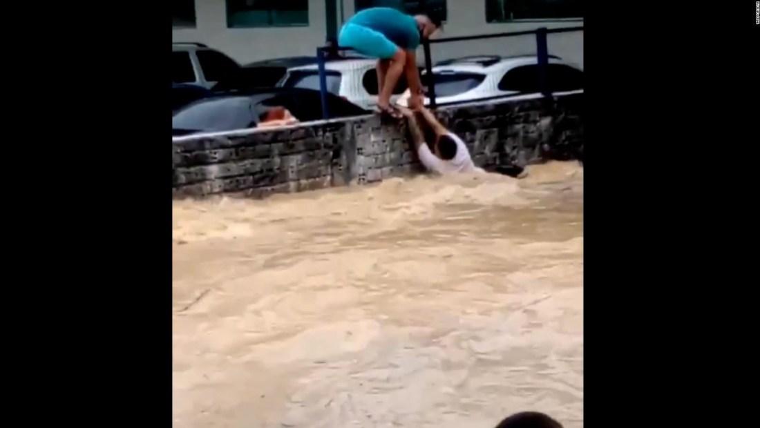 Inundación en Brasil desploma refugio de venezolanos