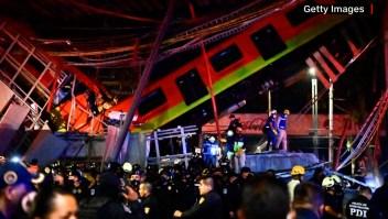"""""""Volví a nacer"""", dice superviviente al accidente del metro"""