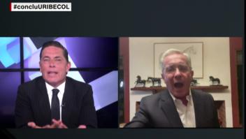 Tenso intercambio entre Álvaro Uribe y Fernando del Rincón
