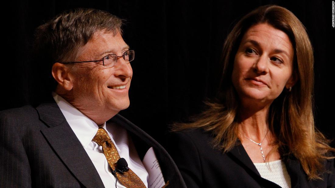 China no para de hablar sobre el divorcio de Bill y Melinda Gates