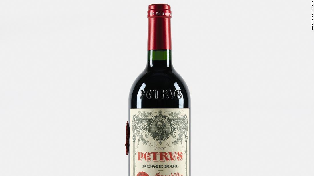 Una botella de vino de Bordeaux añejada en el espacio podría venderse por un millón de dólares