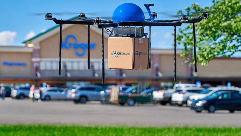 Kroger se prepara para hacer entregas con drones autónomos