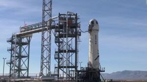 ¿Viajarías al espacio en el cohete New Shepard?