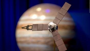 Las sorprendentes imágenes de las tormentas en Júpiter