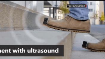 Estos zapatos ayudan a quienes no pueden ver
