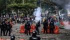 Exige desmilitarizar ciudades líder estudiantil colombiana