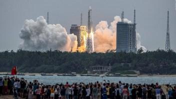 Así avanza el ensamblaje de la estación espacial china