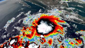 Andrés, la tormenta que se adelanta a la temporada