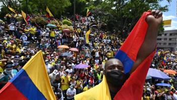 Protestas en Colombia causan escasez de alimentos