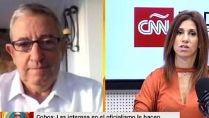Cobos: Al presidente Fernández le falta liderazgo