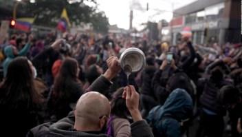 Protestas en Colombia, síntoma de diferencias más profundas