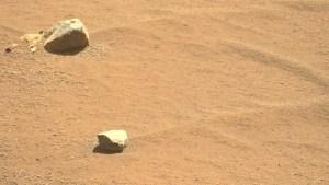 Minimalismo en la mejor imagen de la semana en Marte