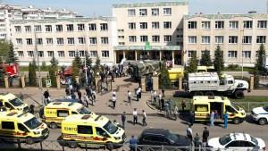 Tiroteo deja al menos 9 muertos en Rusia