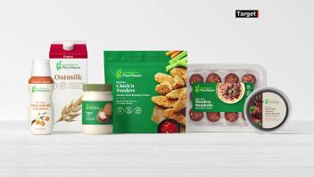 Target lanza línea de alimentos a base de vegetales