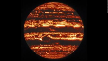 Mira las nuevas características que captaron de Júpiter