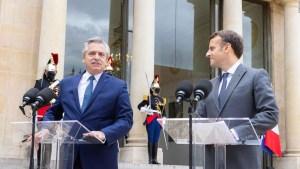 Fernández continúa en Francia su gira europea