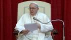 Papa Francisco participa en evento con fieles